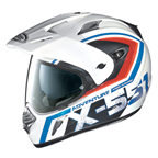 หมวก X-LITE X-551 ADVANTURE METAL WHITE HELMET