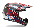 BELL MOTO-9 CARBON TAGGER CLASH RED