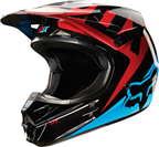 2015 FOX V1 RACE HELMET BLUE/RED