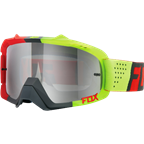 FOX AIR DEFEND GOGGLE LIBRA RED/YELLOW [CHROME SPARK LENSE]