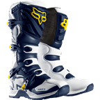 FOX COMP 5 LIMITED EDITION BOOT WHITE/YELLOW