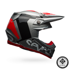 BELL MOTO 9 CARBON FLEX SEVEN ROGUE SILVER/BLACK