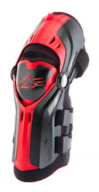 ACERBIS GORILLA KNEE GUARD BLACK/RED