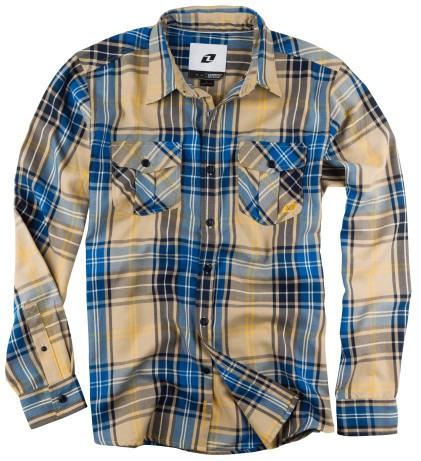 เสื้อเชิ้ต ONE BIXBY MENS LONG SLEEVE FLANNEL SHIRT