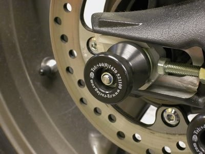 TRIUMPH STREET TRIPLE R&G REAR SPINDLE SLIDER