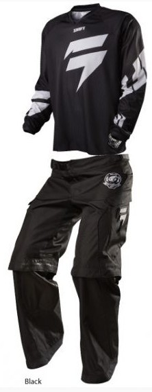 SHIFT 2015 RECON LOGO ENDURO GEAR SET BLACK