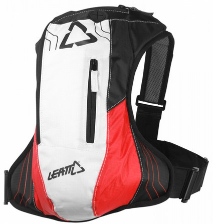 LEATT BRACE HYDRATION H2 2.5 L. BLACK/RED/WHITE