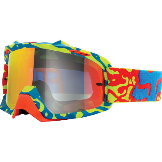 FOX AIR SPACE CAUZ SPARK GOGGLE [YELLOW-RED/RED SPARK LENSE]
