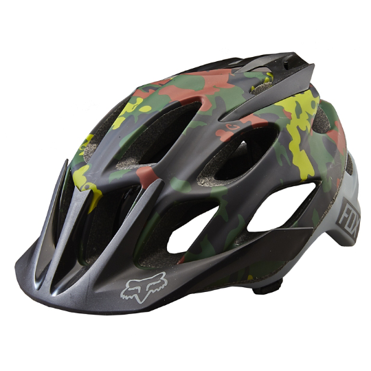 FOX FLUX CAMO HELMET