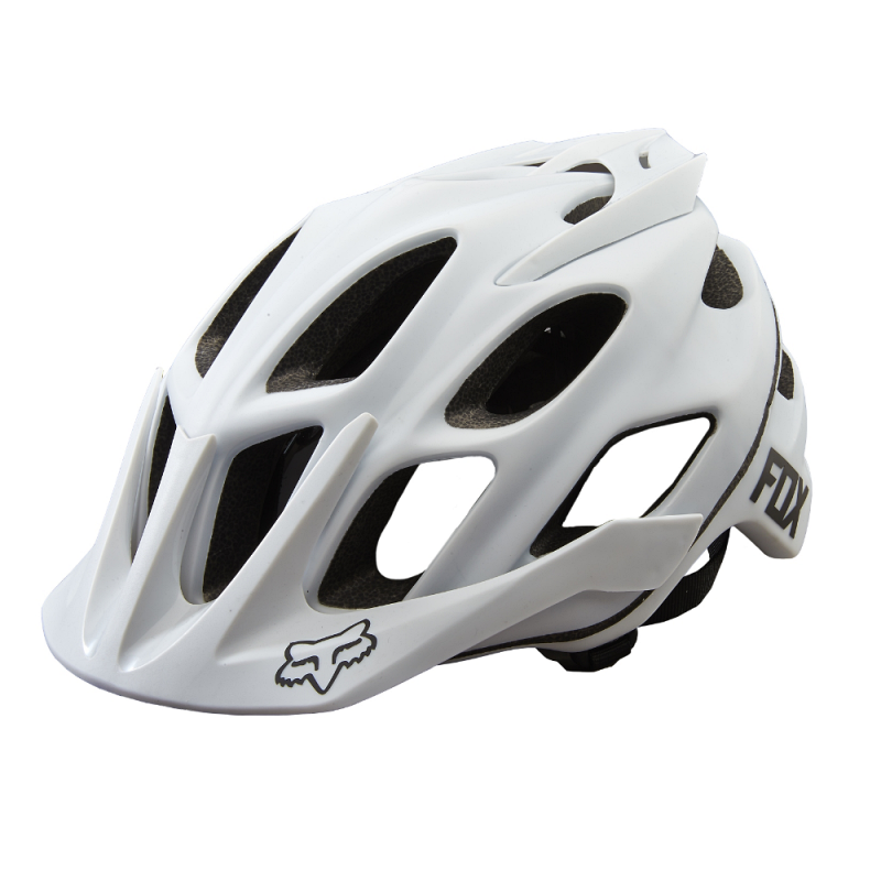 FOX FLUX MATTE WHITE HELMET