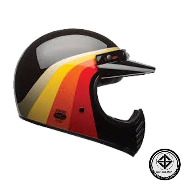 BELL MOTO 3 CHEMICAL CANDY BLACK/GOLD