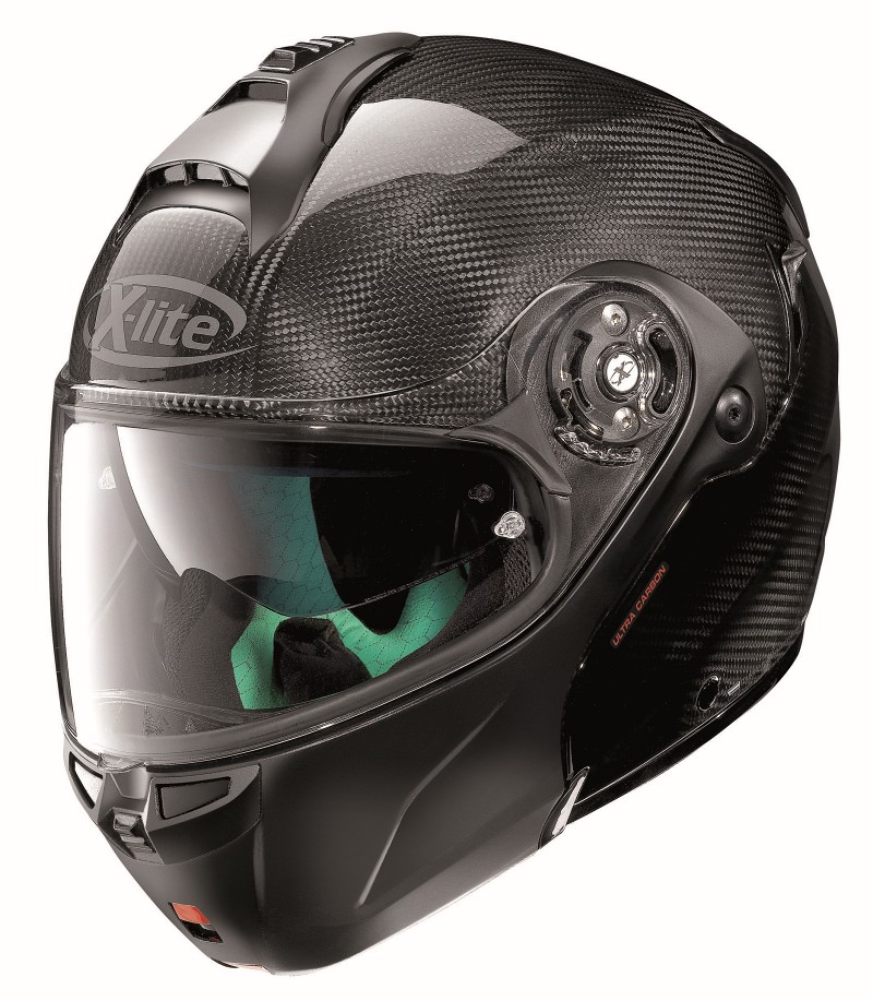 X-LITE X-1004 DYAD CARBON 001 FLAT BLACK CHIN GUARD