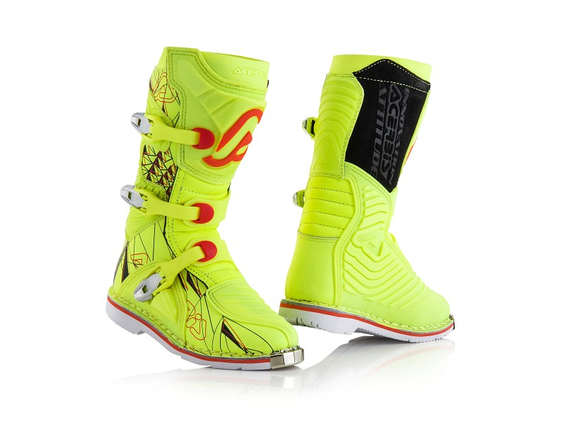 ACERBIS BOOTS SHARK JUNIOR YELLOW FLUO/BLACK