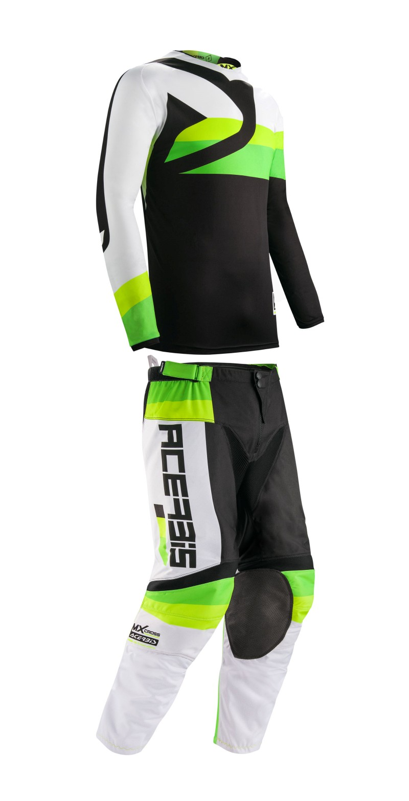 ACERBIS MX GEAR SPACELORD BLACK/GREEN