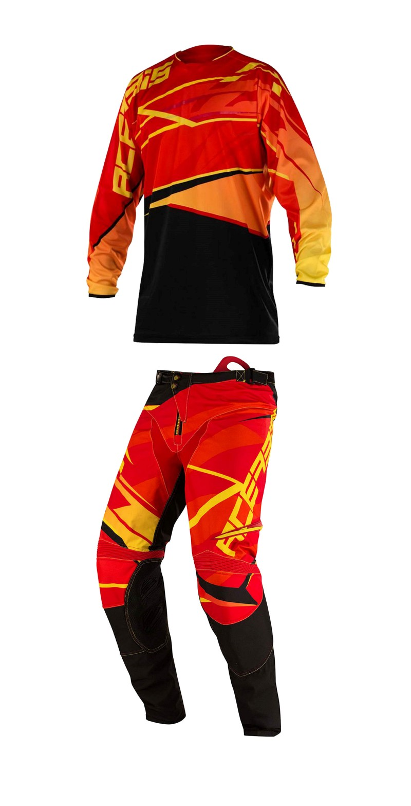 ACERBIS MX GEAR X-GEAR RED/YELLOW