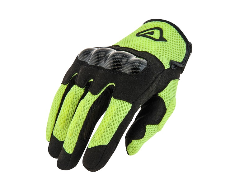 ACERBIS RAMSEY MY VENTED BLACK/YELLOW GLOVE