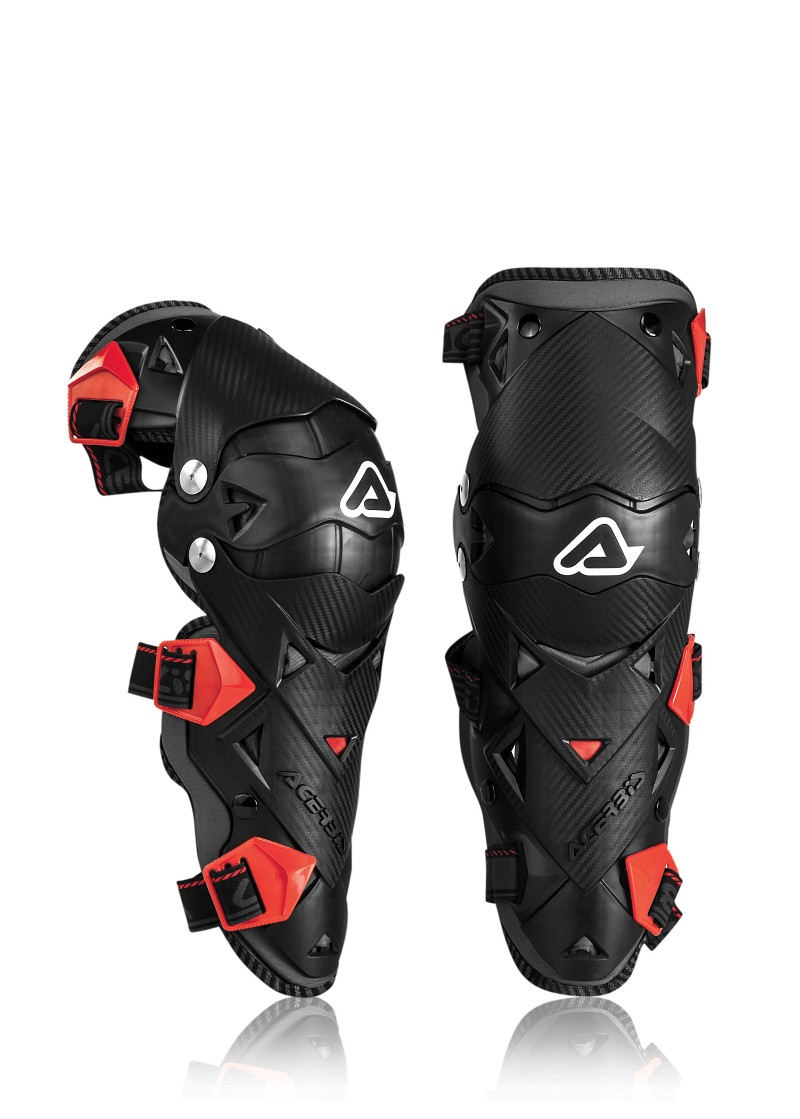 ACERBIS KNEE GUARD IMPACT EVO 3.0 BLACK/RED