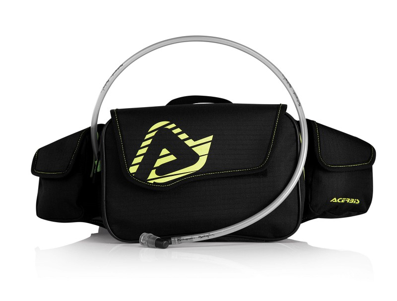 ACERBIS DROMY WAIST PACK BLACK/YELLOW